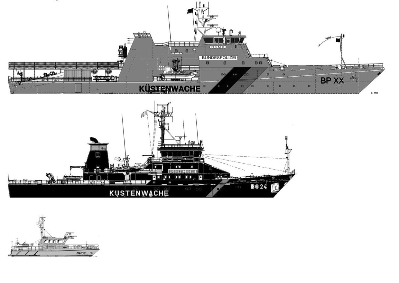 Neue Einsatzschiffe der Bundespolizei See - Frontex ...