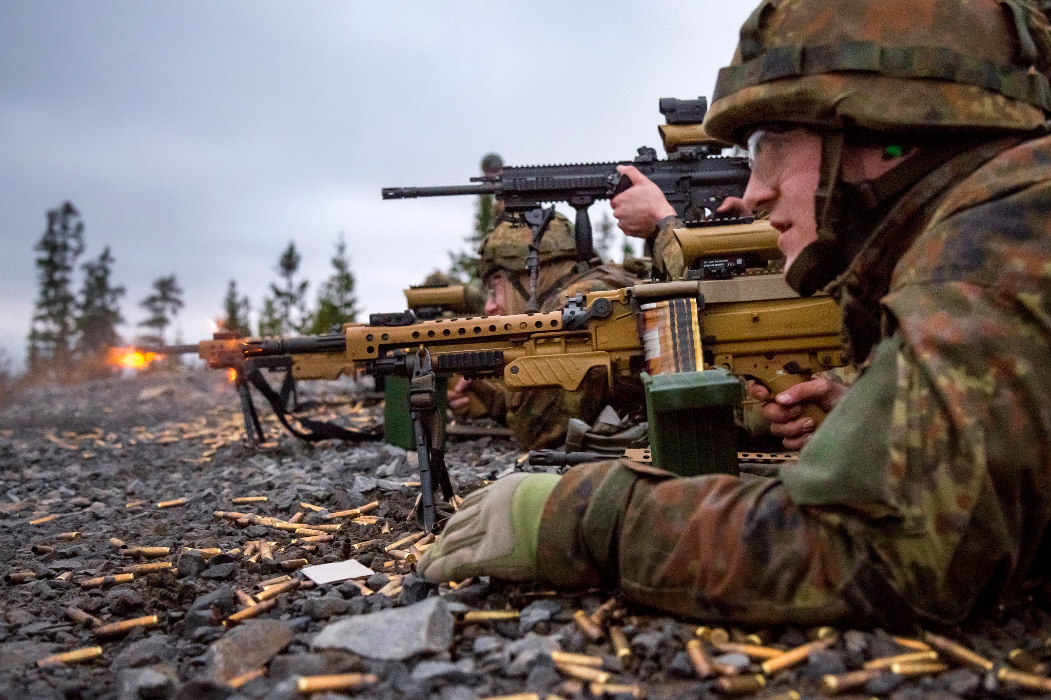 Harmonization of small arms of the Bundeswehr