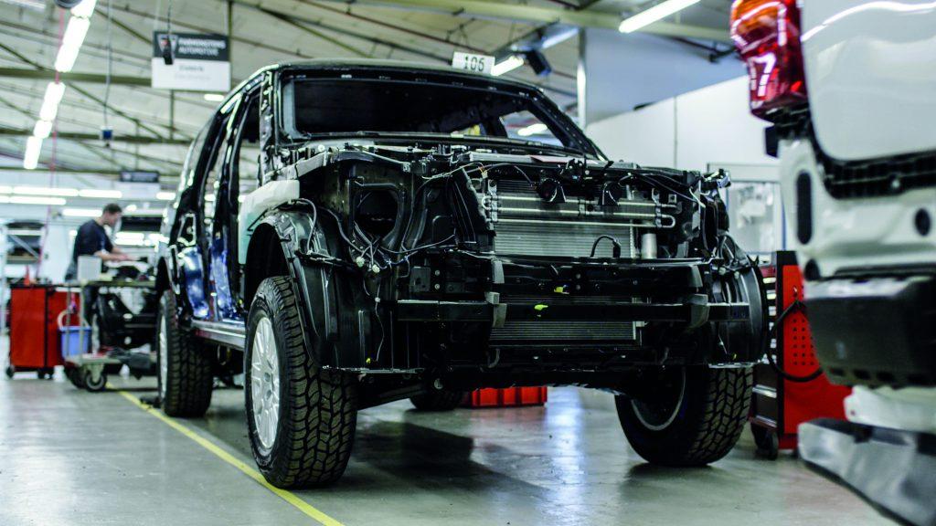 Sonderschutz für zivile Fahrzeuge