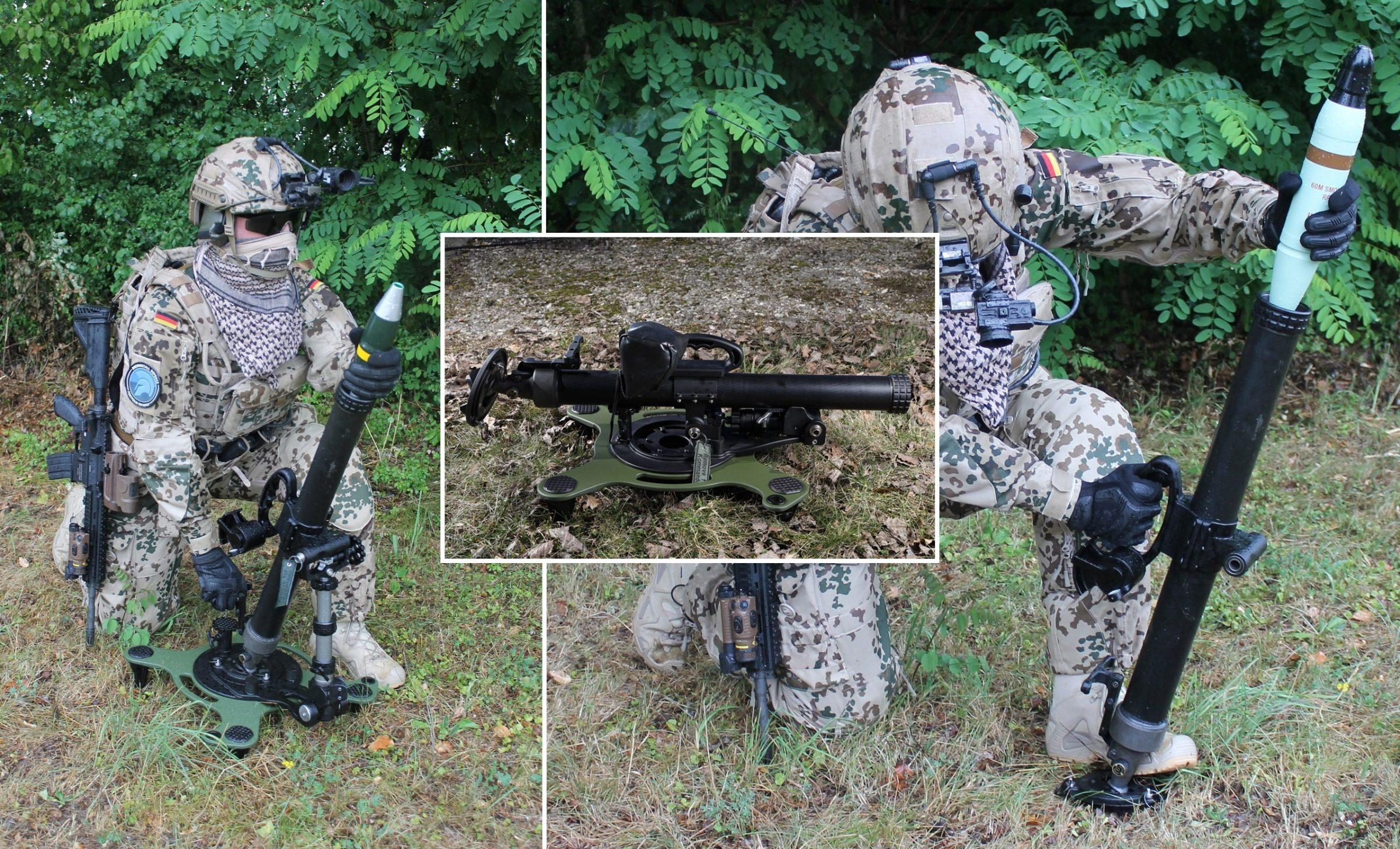 RSG60 - Rheinmetall präsentiert neuen 60mm-Mörser für