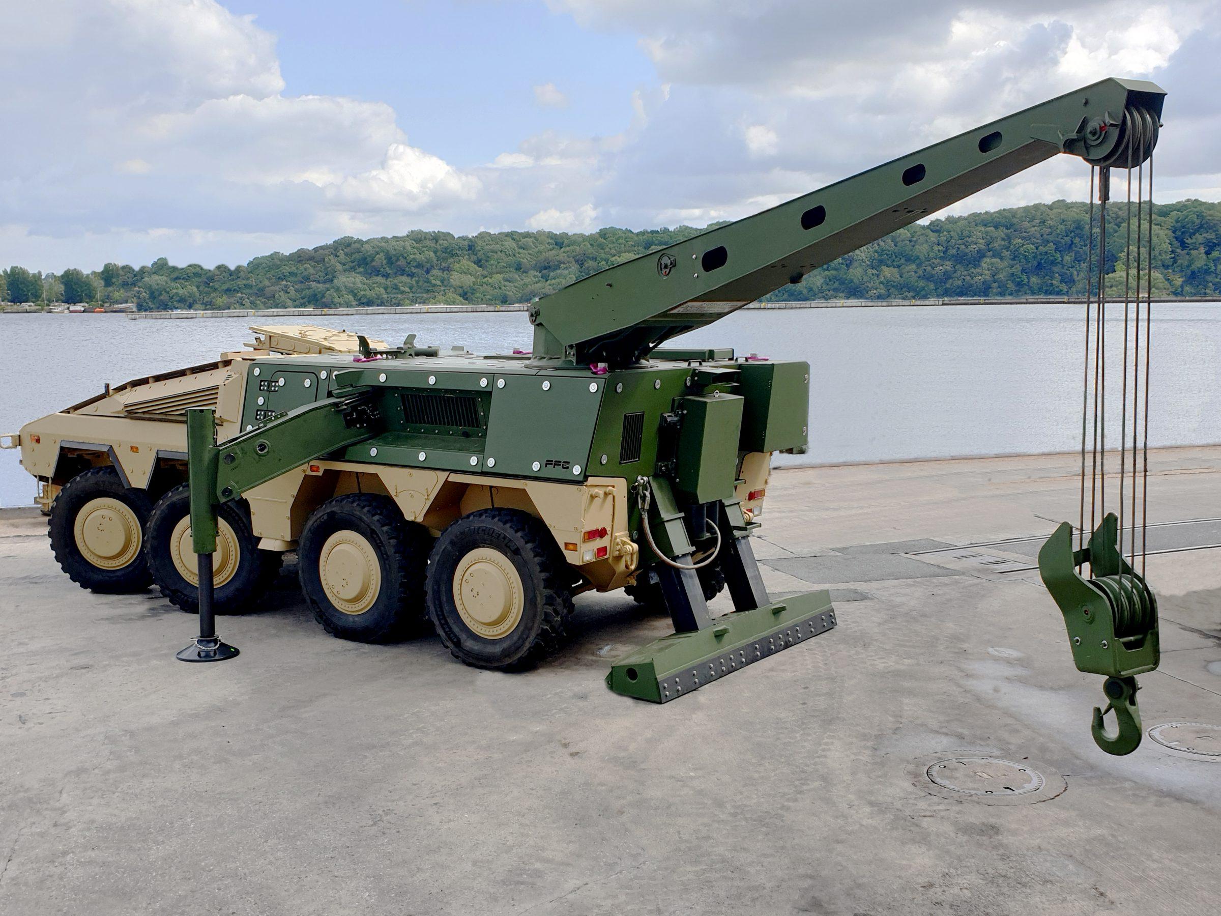Velsete FFG stellt Berge-Modul für den Boxer vor ZK-82
