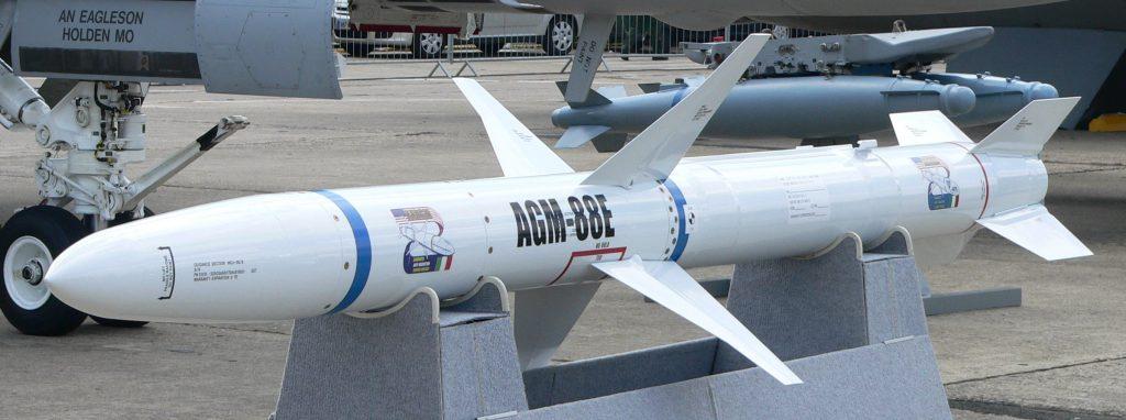 Bundeswehr erhält AGM-88E AARGM Antiradar-Lenkflugkörper