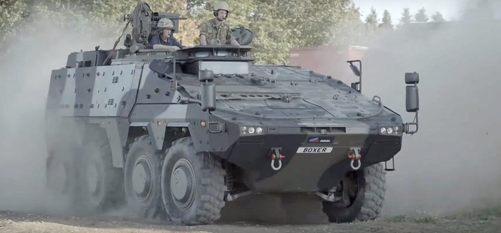 Sachstand und Perspektiven für das Geschützte Transportkraftfahrzeug GTK Boxer