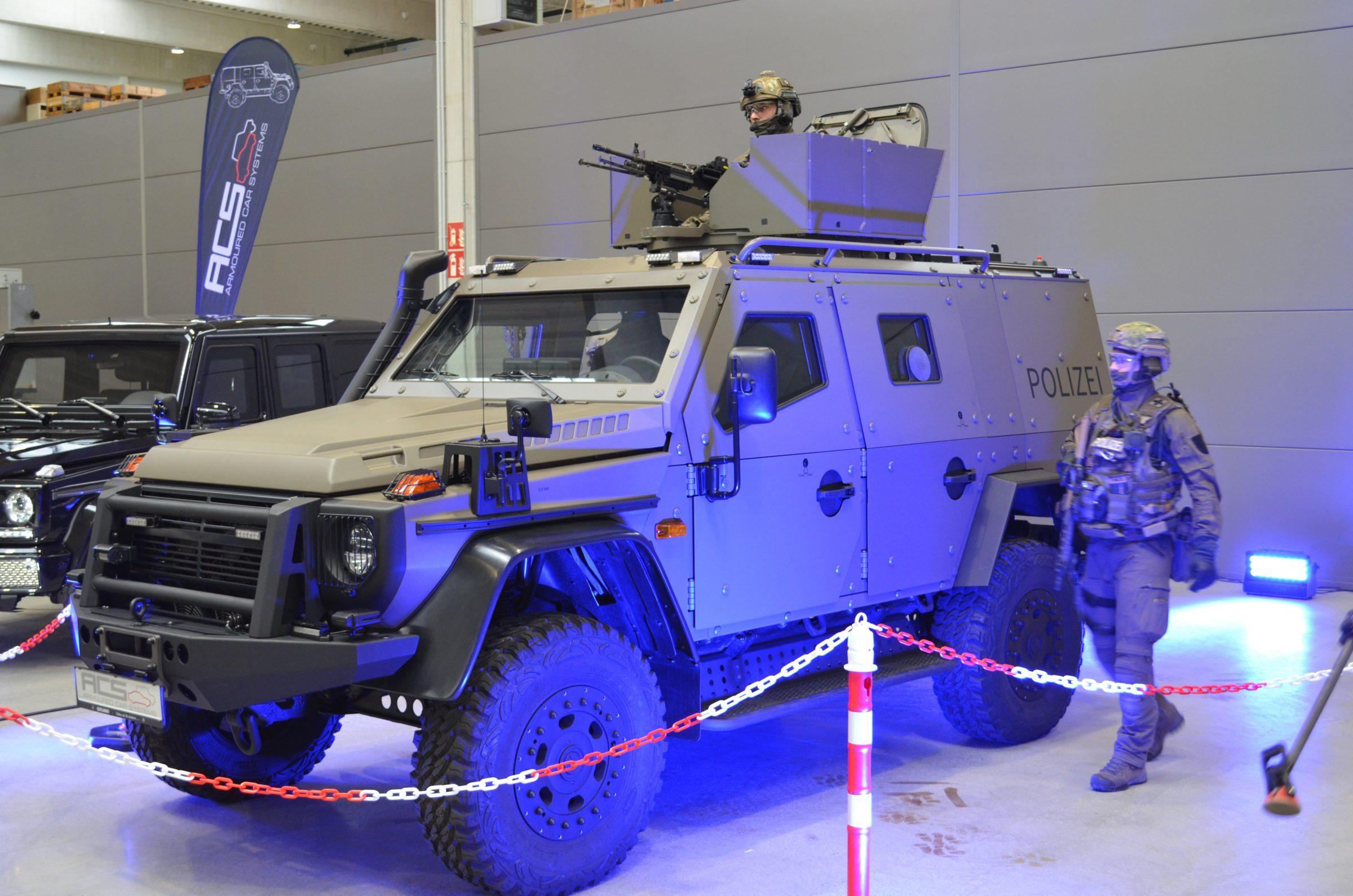 Bayerische Spezialeinsatzkommandos erhalten Fahrzeuge für Terrorlagen
