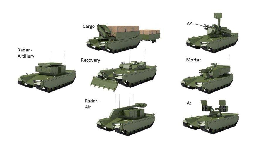 Konzept für unbemannten Schützenpanzer