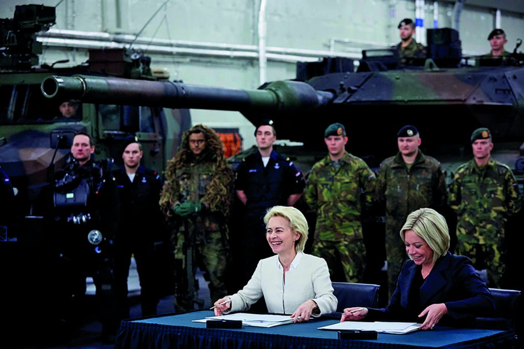Zusammenarbeit der deutschen und der niederländischen Landstreitkräfte