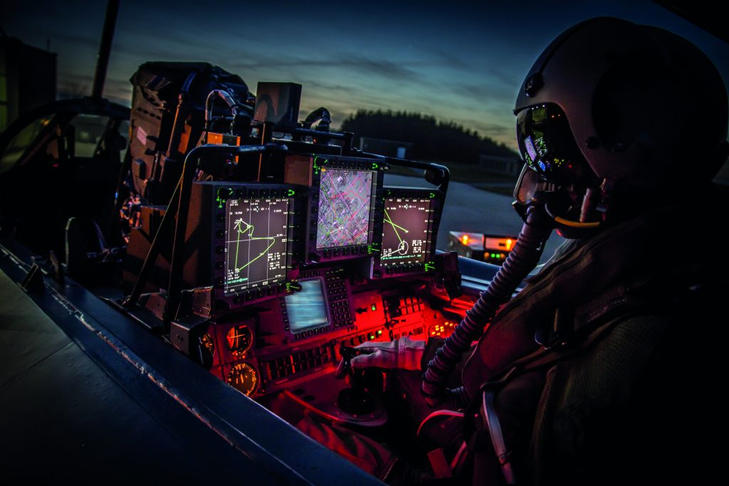 Das Waffensystemunterstützungsteam Kampfflugzeuge