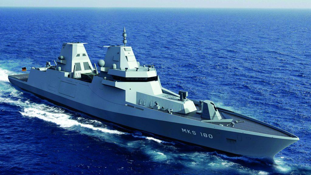 Das Mehrzweckkampfschiff Klasse 180