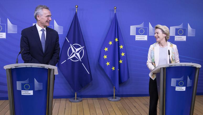 Erstmalig: NATO-Generalsekretär nimmt an EU-Kommissionssitzung teil