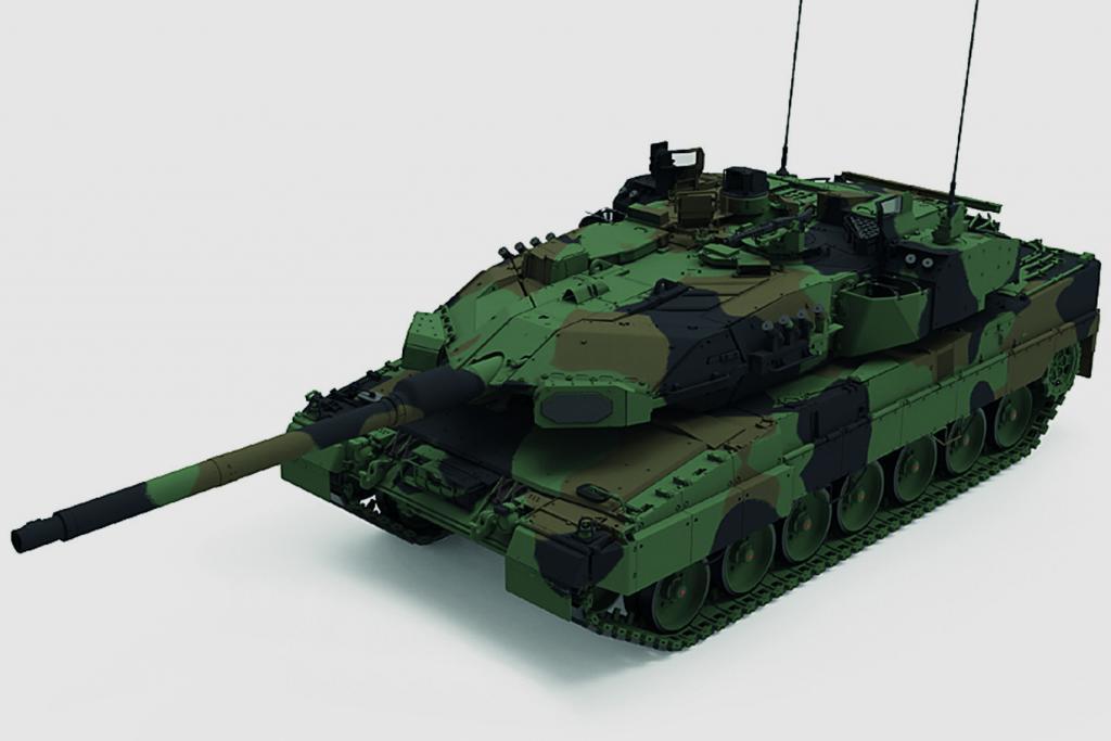 Aktiver Schutz für den Kampfpanzer Leopard 2