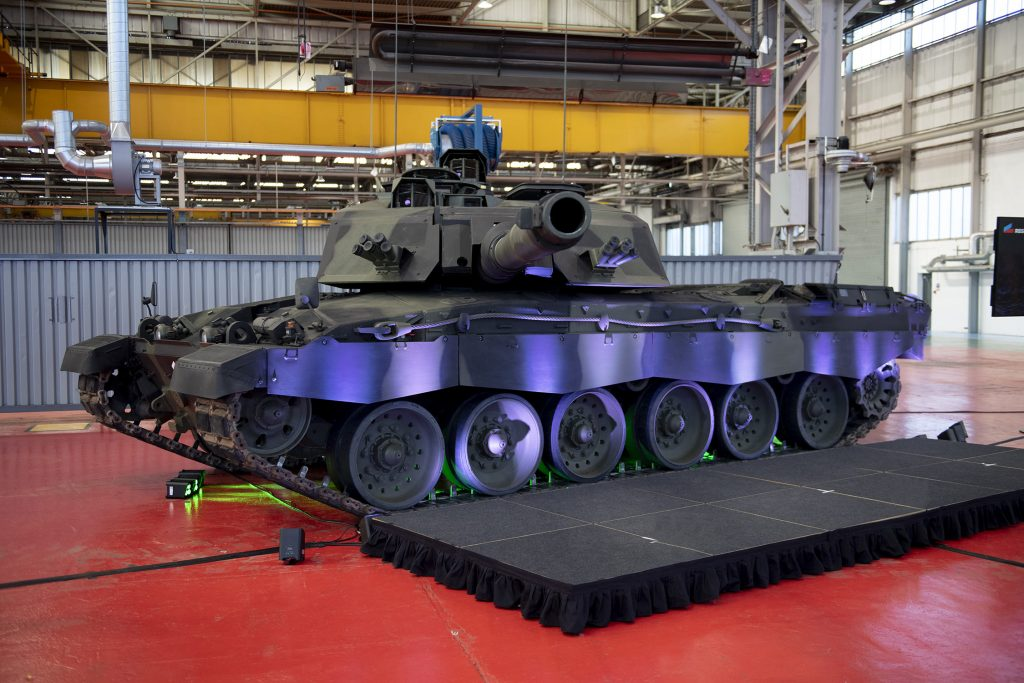 Die British Army erhält ab 2027 Kampfpanzer Challenger 3